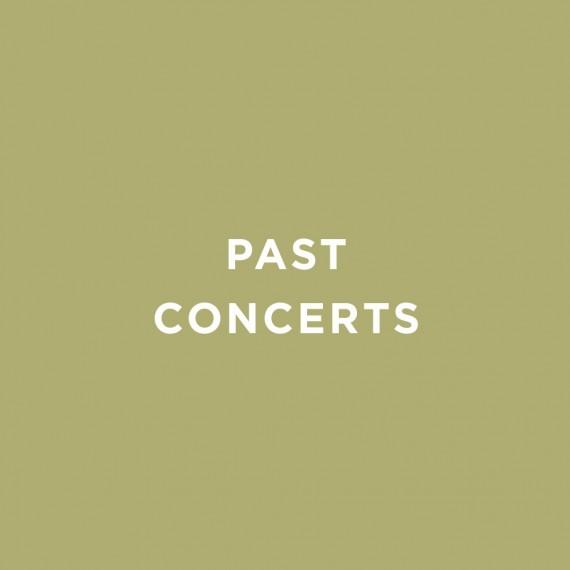 Past ConcertsX