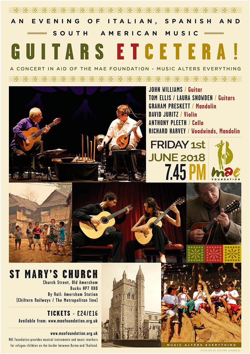June Concert - Friday 1st June at 7.45pm